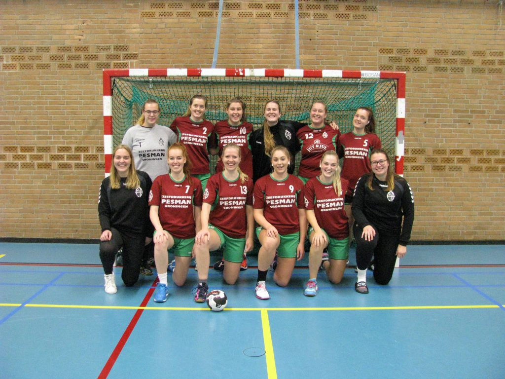 dames 3 team foto website